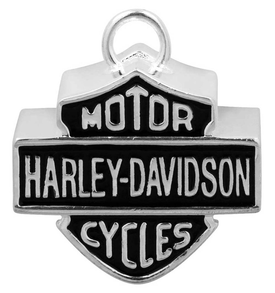 Harley-Davidson® Large Bar & Shield Motorcycle Ride Bell, Silver HRB024