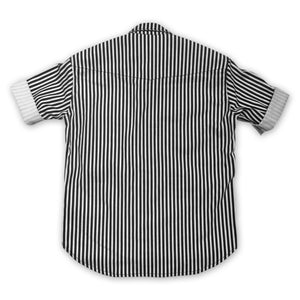 Johnny Con Short Sleeve Striped Shirt