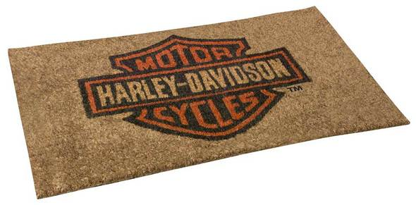 Harley-Davidson® Core Bar & Shield Coco Entry Mat, 30 x 18 inches HDX-99104