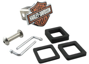 "Harley-Davidson Motorcycles Trailer Hitch Cover for 2"" Trailer Hitches Item # HDHC25"