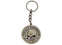 Harley-Davidson Key Chain - Willie G. Skull Emblem - Black and Chrome Item # HDKD239
