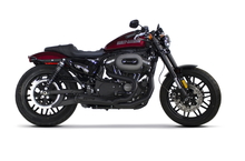 Sportster 2017-2017 Black Dual Slip On's