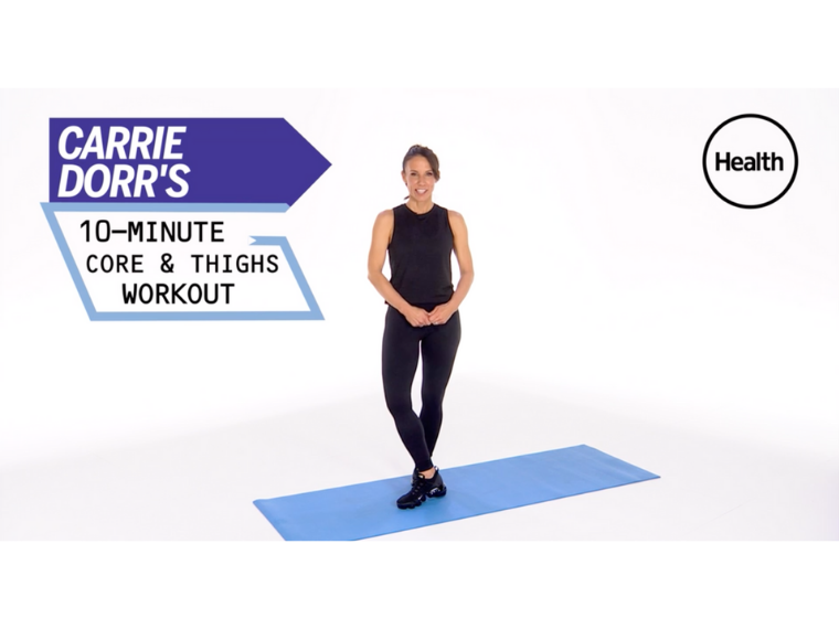 Carrie x Health Magazine Workout