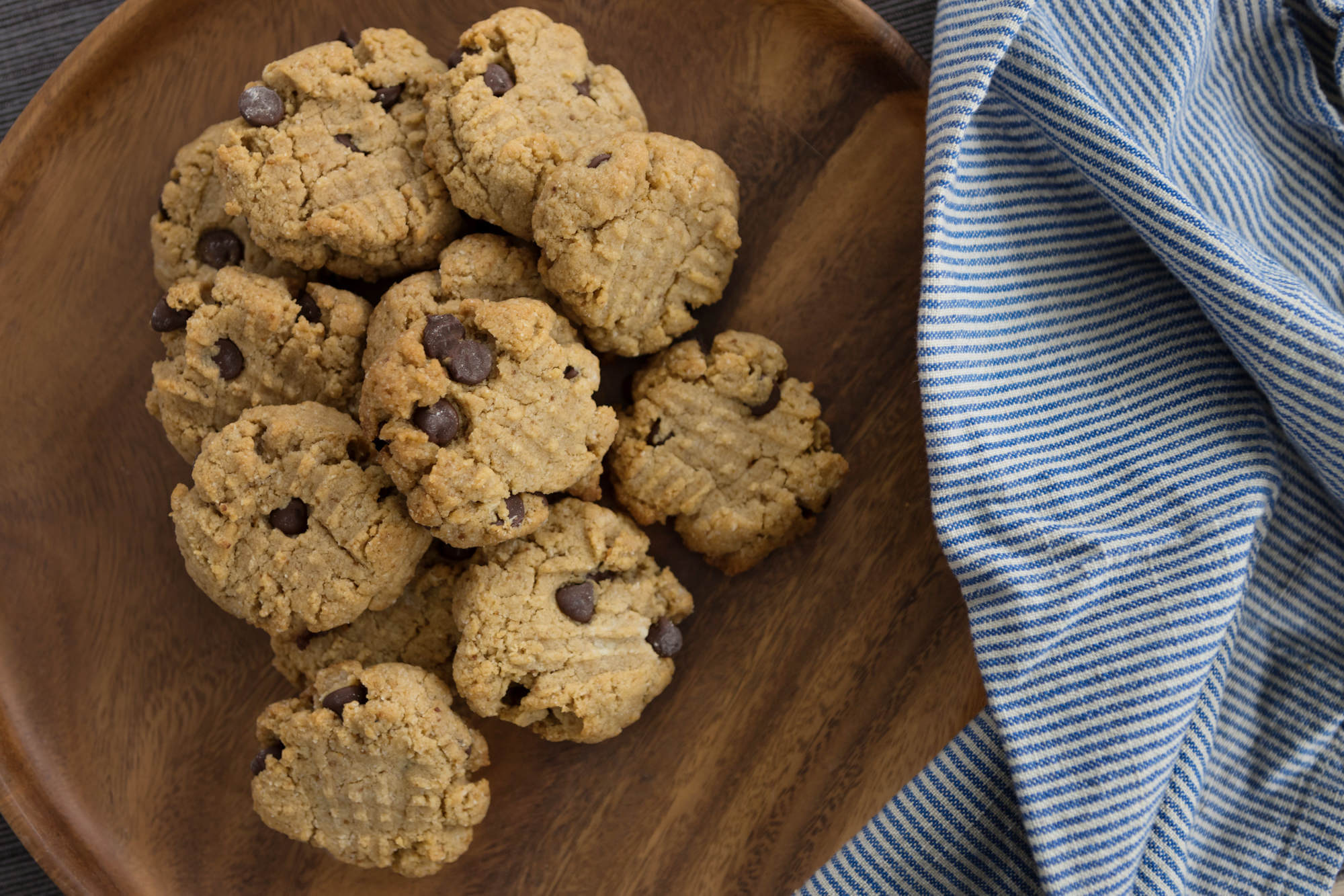 """Gluten Free Chocolate Chip Cookies"