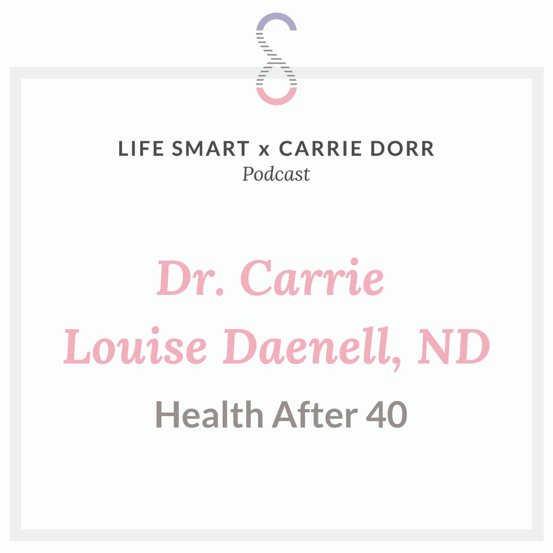 Dr. Carrie Louise Daenell, ND: Health After 40