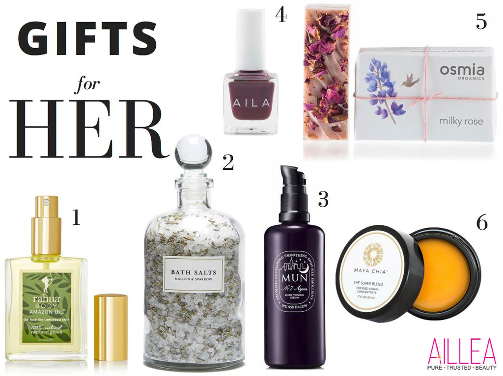 Clean Beauty Gift Guide for Her