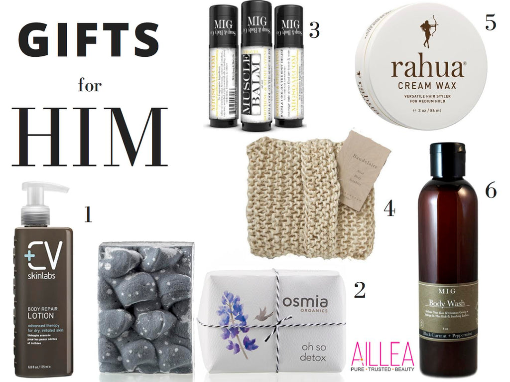 Clean Beauty Gift Guide for Him