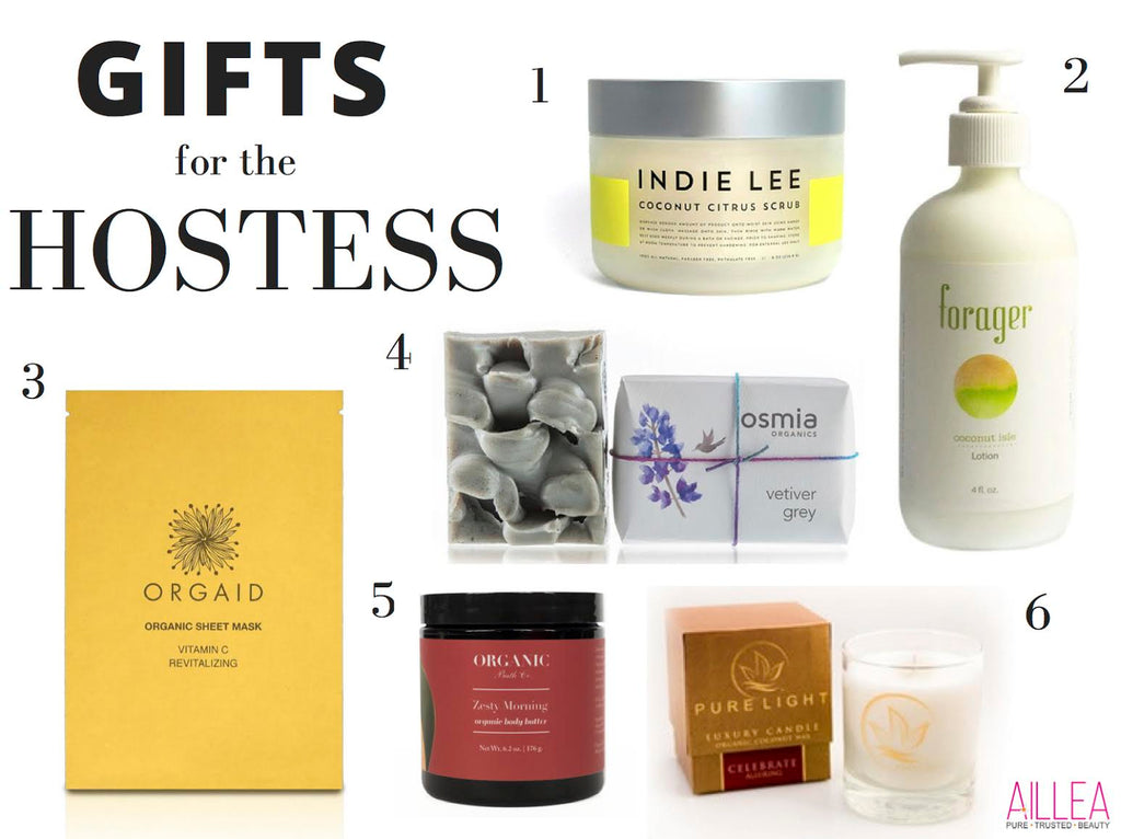 Clean Beauty Gift Guide for the Hostess