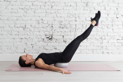 Abs- 9 Minutes- Pilates Ball