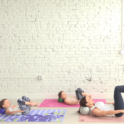 M+M Kids Pilates- 8 Minutes- Ball