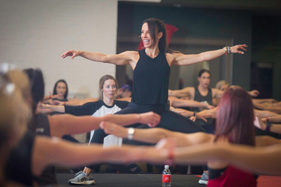 Guest Teaching at Pure Barre Nashville