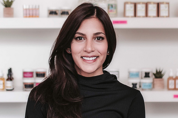 Shama Patel, Founder + President of Clean Your Dirty Face® and Founder + President of AIR®