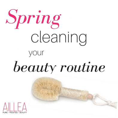 Aillea's Spring Cleaning Beauty Guide