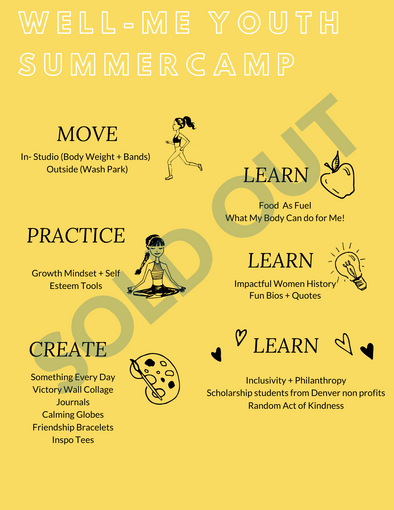 Girl Summer Camp Registration