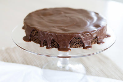 Chocolate Cake and Dark Chocolate Fudge Frosting