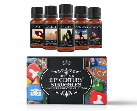 21st Century Struggles | Essential Oil Blend Gift Pack