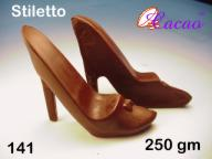 3D Stiletto Chocolate/Sweet/Soap/Plaster/Bath Bomb Mould #141 (2 cavity)