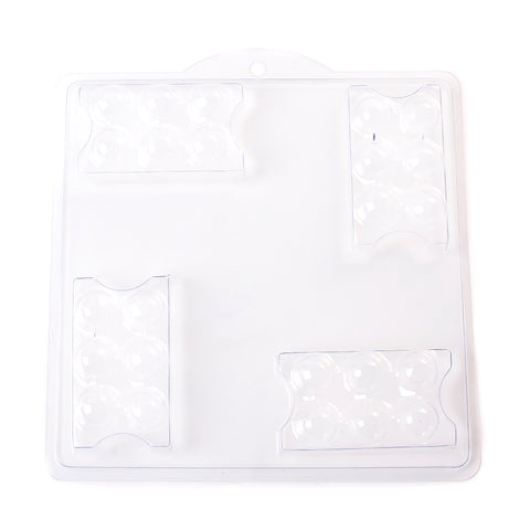 4 Cavity Massage Bar/Soap Mould B01