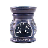 Blue Soapstone Oil Burner