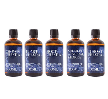 Chakra | Gift Starter Pack of 5 x 100ml Essential Oil Blends