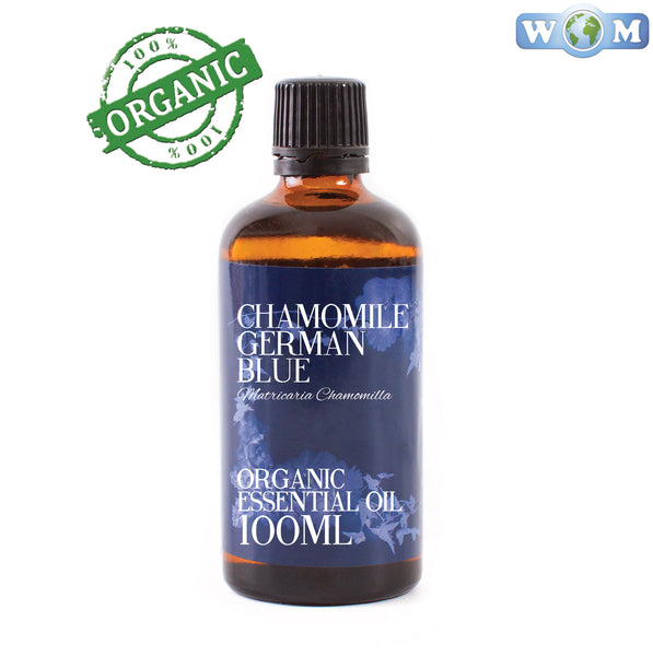 Chamomile German Blue Organic Essential Oil
