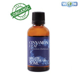 Cinnamon Leaf Organic Essential Oil