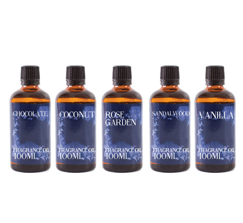 Favourite | Gift Starter Pack of 5 x 100ml Essential Oils