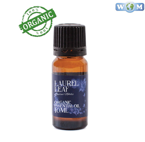 Laurel Leaf (Bay Laurel) Organic Essential Oil