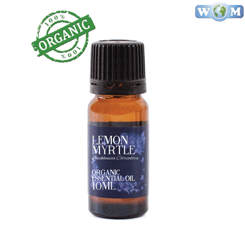 Lemon Myrtle Organic Essential Oil