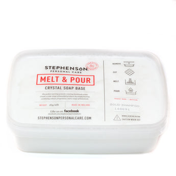 Melt and Pour Soap Base - Solid Shampoo SLS FREE