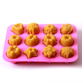 Assorted Shapes Cake/Jelly/Soap Silicone Soap Mould B0001