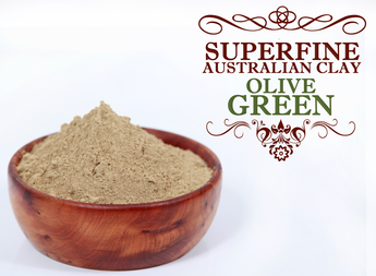 Superfine Australian Clay - Olive Green