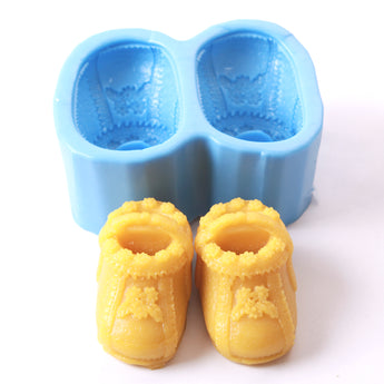 Baby Booties/Boot/Shoe Silicone Soap Mould R0106