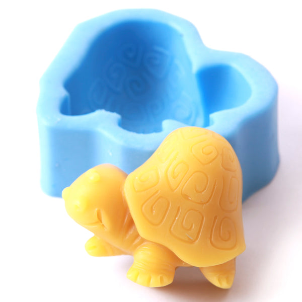 Cartoon Turtle Silicone Soap Mould H0046