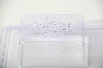 Chunky Celtic Knot Soap Mould 4 Cavity M157