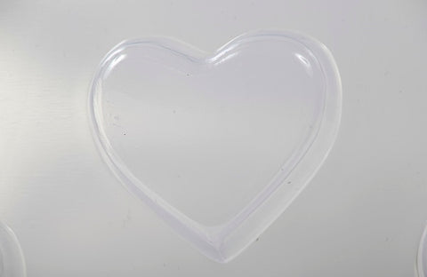 Chunky Heart Soap/Bath Bomb Mould Mold 8 Cavity M166