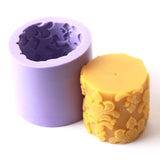 Cylinder Silicone Candle/Bath Bomb Soap /Chocolate/Jelly Mould LZ0066