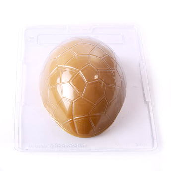 Large Easter Egg Half Chocolate/Sweet/Soap/Plaster/Bath Bomb Mould #042 (Single Cavity)