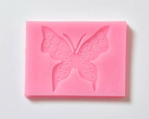 Fondant Icing Cake Decorating Silicone Butterfly Mould Q0003