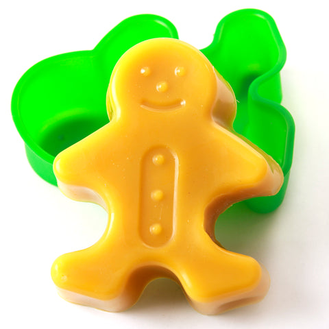 Gingerbread Man Cake/Jelly/Soap Silicone Soap Mould B0012