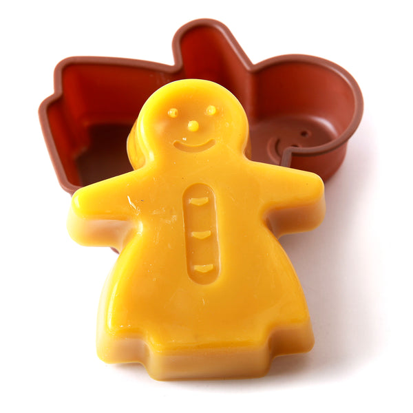 Gingerbread Woman Cake/Jelly/Soap Silicone Soap Mould B0011
