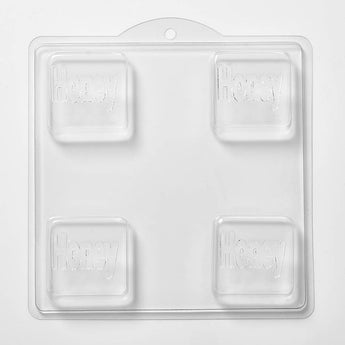 Honey Soap/Bath Bomb/Chocolate Mould x 4 M134