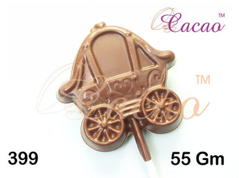 Princess Carriage Lolly Chocolate/Sweet/Soap/Plaster/Bath Bomb Mould #399 (3 Cavity)
