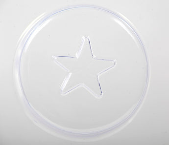 Star On Circle Soap Mould 5 Cavity M160