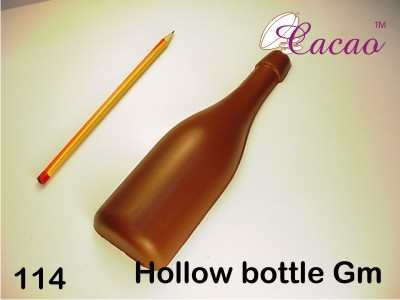 Wine Bottle Chocolate/Sweet/Soap/Plaster/Bath Bomb Mould #114 (Single Cavity)