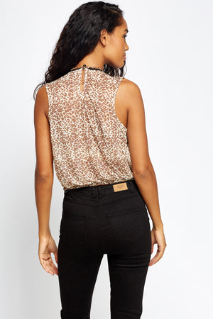 Top animal print - MiTiendaSecreta
