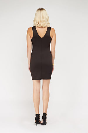 Vestido bodycon cut out