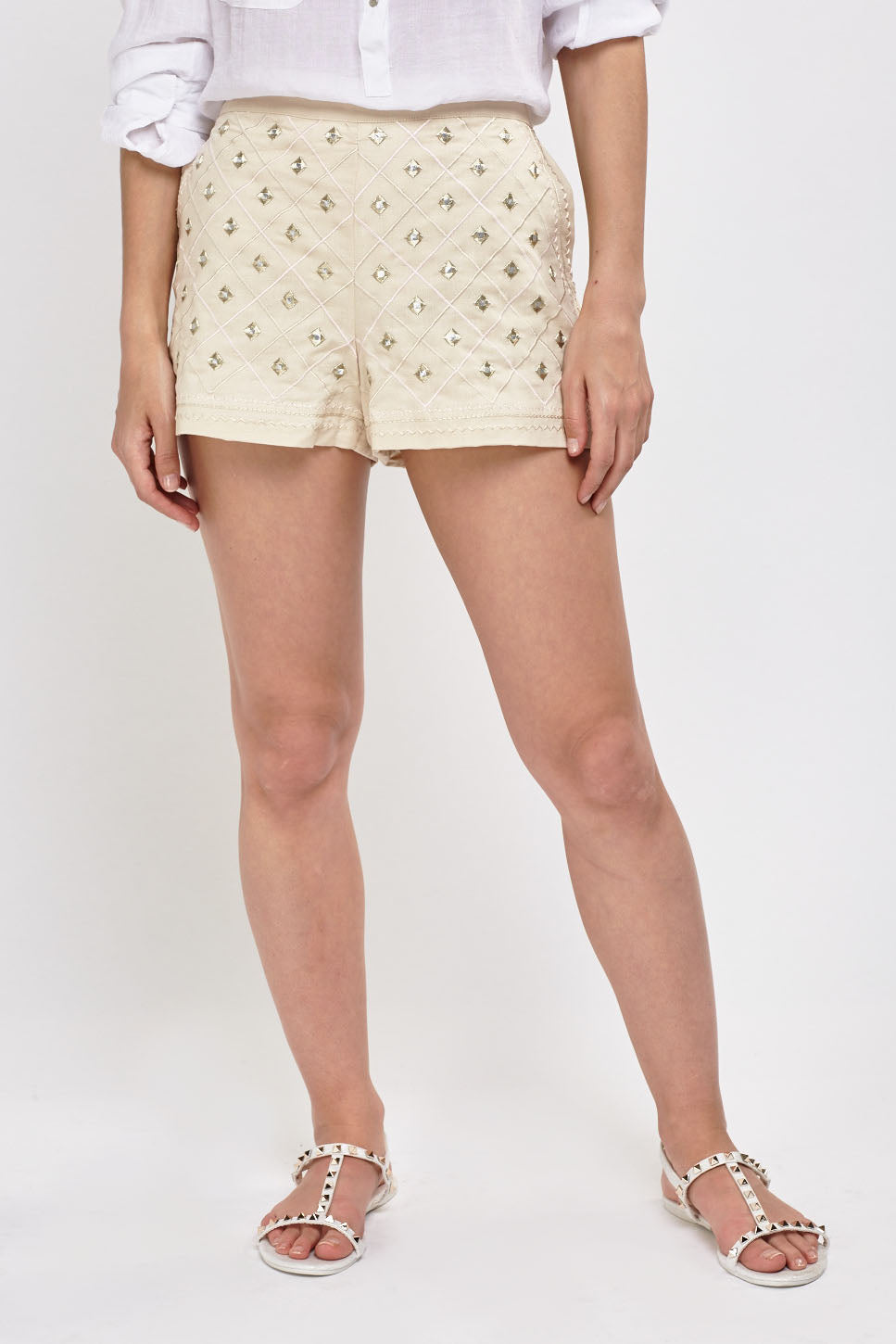 Shorts bordado