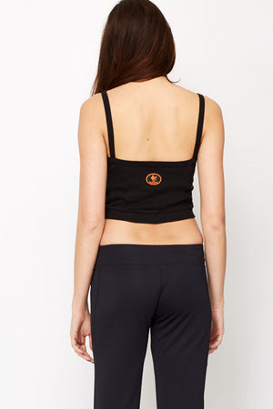 Crop top bordado - MiTiendaSecreta