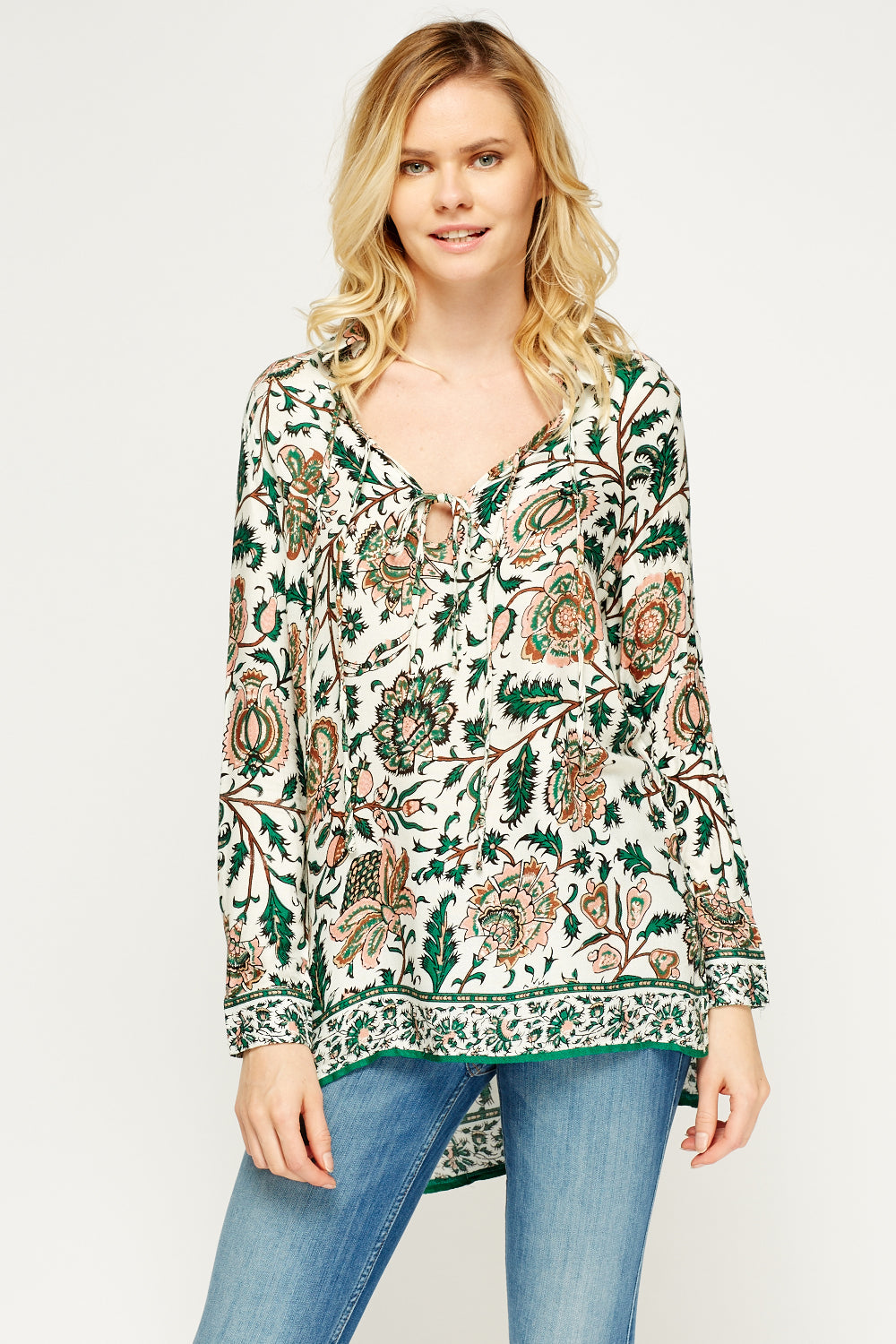 Top casual estampado - MiTiendaSecreta